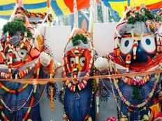 today will perform deva snana yatra to lord jagannath in puri temple