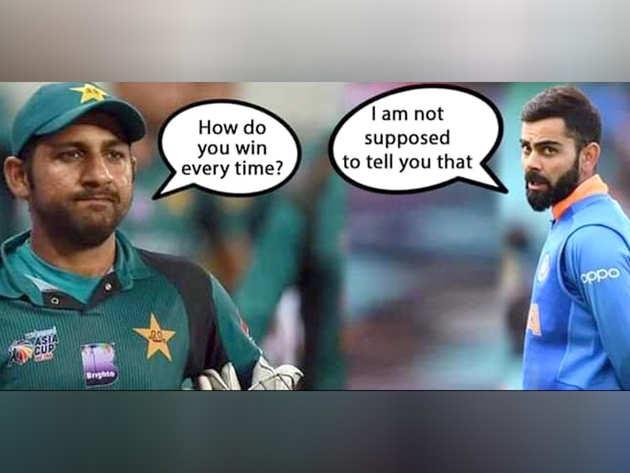 पाकिस्तानियों ने लिए मजे
