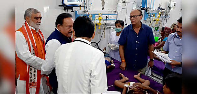 चमकी बुखार: सरकार हर तरह से मदद को तैयार, बोले डॉक्टर हर्षवर्धन