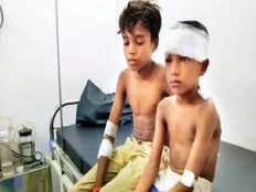 14 year old boy fights with leopard in murbad maharashtra to save cousin