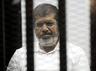 मिस्रः कोर्ट में पूर्व प्रेजिडेंट मोर्सी की मौत