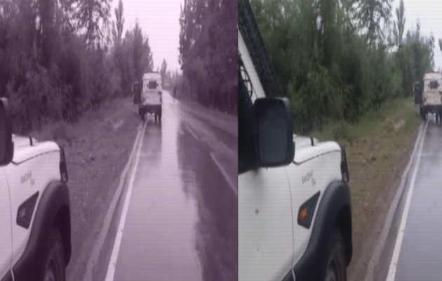 कश्मीर: पुलवामा में सेना के वाहन पर आतंकियों का हमला, आईईडी से बनाया निशाना