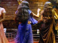 dissatisfaction with lady dancer in hyderabad case ragistered and 4 ladies arrested