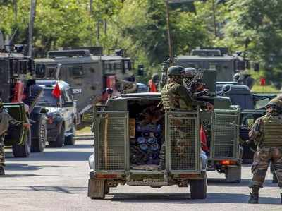 जम्मू-कश्मीर: अनंतनाग में सुरक्षाबलों और आतंकियों के बीच मुठभेड़