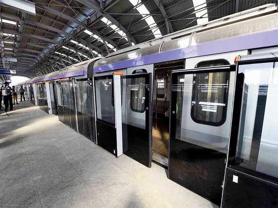 kolkata metro new chinese rakes