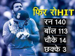 IND vs PAK: रोहित ने पाकिस्तान के खिलाफ जमाया शतक