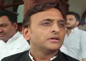 akhilesh yadav responds after sp mp denied to say vande mataram