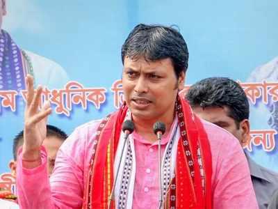 बिप्लब कुमार देब (फाइल फोटो)