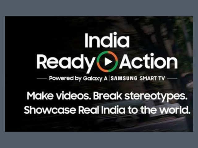 भारतीय युवाओं ने सैमसंग #IndiaReadyAction के साथ बदली सोच