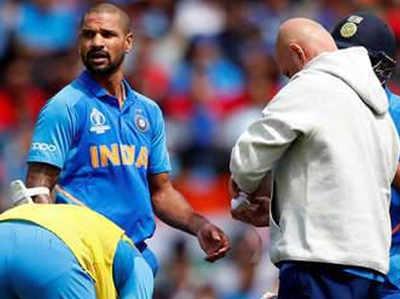 ICC World Cup 2019: भारत को झटका, चोटिल शिखर धवन बाहर, ऋषभ पंत लेंगे जगह