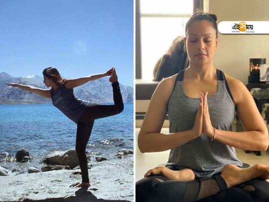 International Yoga Day: Bollywood celebs share posts for their fans to take up Yoga and stay fit