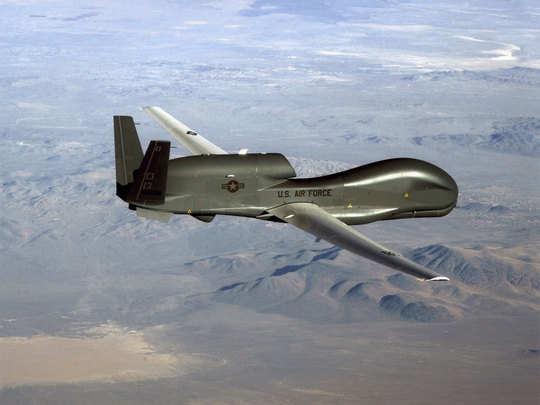 अमेरिकी ड्रोन को मार गिराया ईरान ने