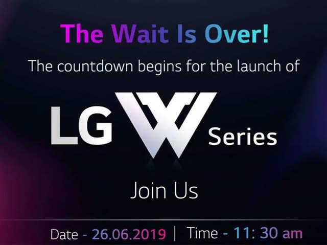 26 जून को लॉन्च होंगे LG W-Series के स्मार्टफोन, AI ट्रिपल रियर कैमरा से हैं लैस