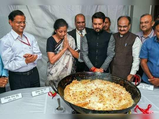 Nirmala Sitharaman Halwa