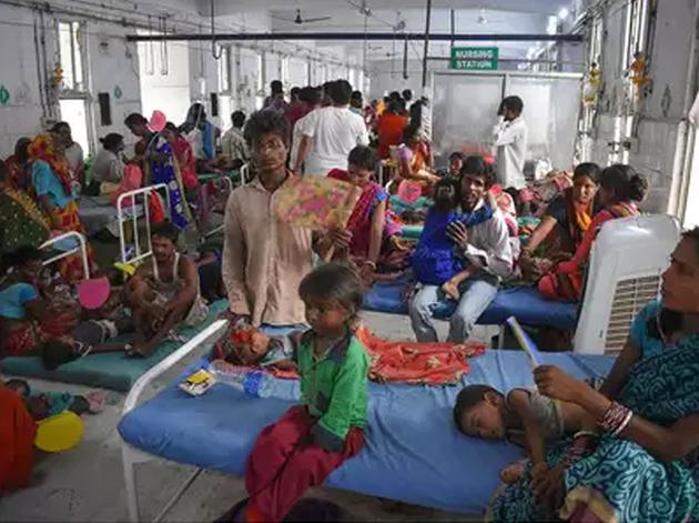 चमकी बुखार पीड़ित बच्चों के आने का सिलसिला जारी