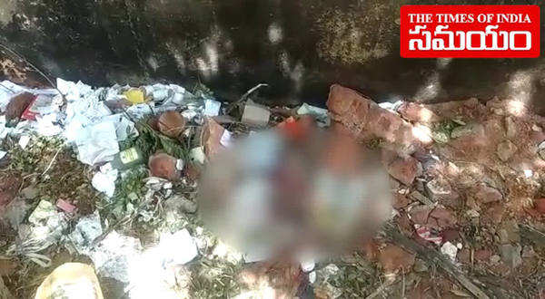 new born baby found in dustbin