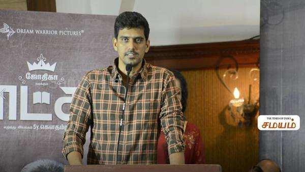 raatchasi audio launch s r prabhu speech