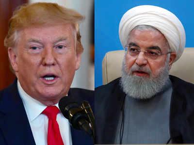US राष्ट्रपति ट्रंप और ईरान के राष्ट्रपति रूहानी