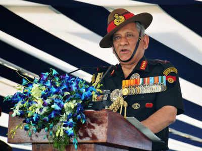 आर्मी चीफ बिपिन रावत इस साल दिसंबर में रिटायर होंगे