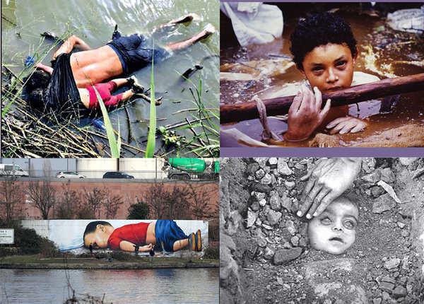 दर्दनाक तस्वीरें जिन्होंने दुनिया को रुला दिया