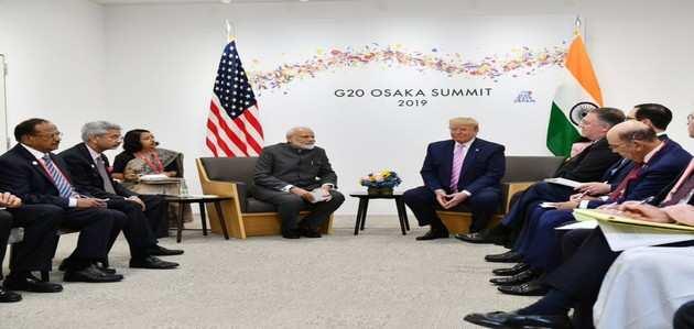 G-20 सम्मेलन में पीएम मोदी और ट्रंप के बीच हुई मुलाकात
