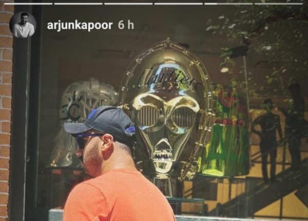  अर्जुन कपूर ने भी पोस्ट की तस्वीर