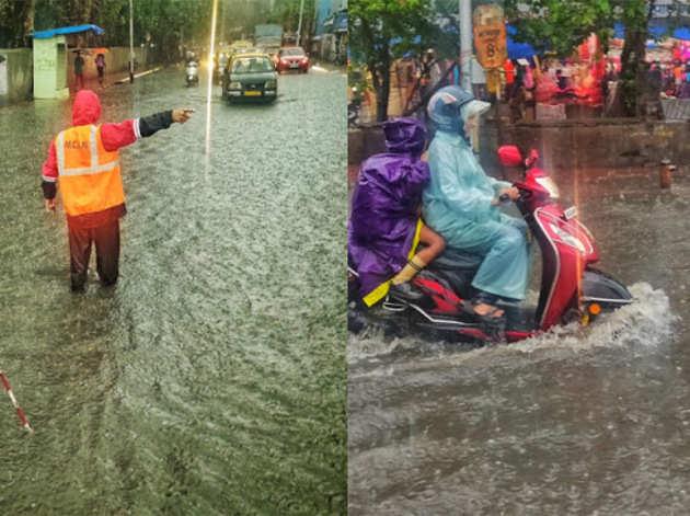 बारिश से कई इलाकों में जलजमाव