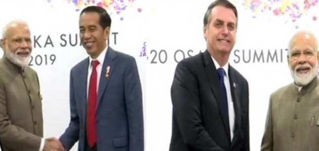 G20: पीएम ने इंडोनेशिया के राष्ट्रपति जोको विडोडो और ब्राजिल के राष्ट्रपति बोलसोनारो से की बातचीत