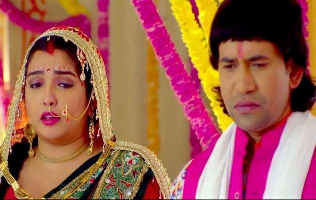 निरहुआ और आम्रपाली दुबे की शादी का यह विडियो हुआ वायरल