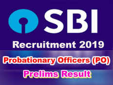 state bank of india has released po prelims exam 2019 result check marks cutoff marks here