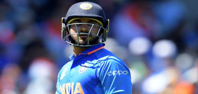 वर्ल्ड कप 2019: अंगूठे में फ्रैक्चर के कारण विजय शंकर श्रृंखला से हुए बाहर