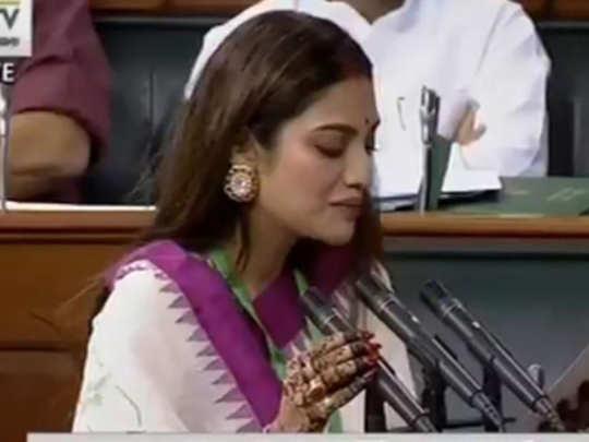 मी सर्वसमावेशक भारताची प्रतिनिधी, नुसरत यांचा पलटवार