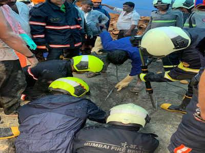 मलाड में दीवार गिरने से 18 की मौत