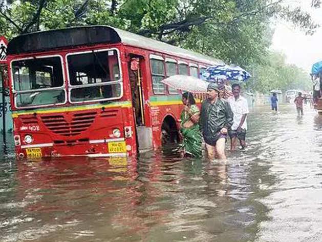 मुंबई में 4 दिन में 795 मिमी बारिश