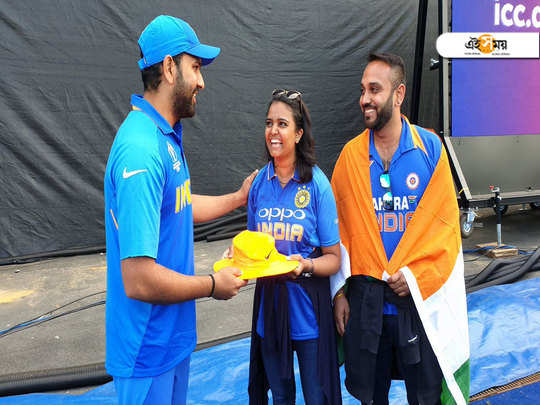Hit by a his six, Rohit Sharma gave signed hat to fan after India beats Bangladesh