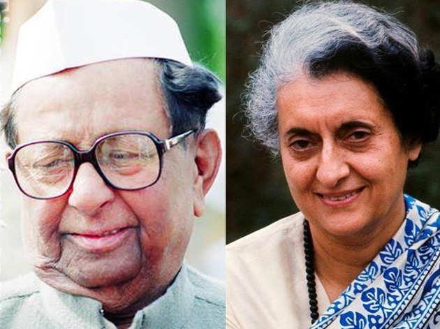 सीताराम केसरी और इंदिरा गांधी (फाइल)