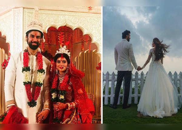 बंगाली और क्रिस्चन रिवाज से हुई शादी