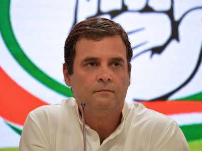 RSS पर कांग्रेस, राहुल का हमला जारी