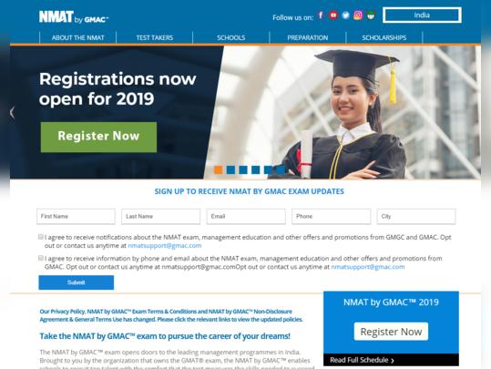 nmat registration fees