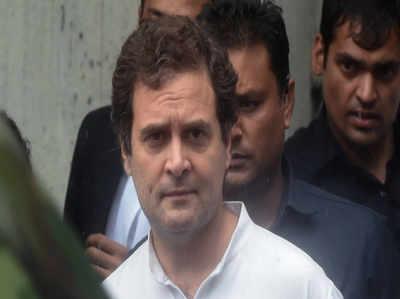 यह विचारधारा की लड़ाई है, डटकर करूँगा मुकाबला: राहुल गांधी