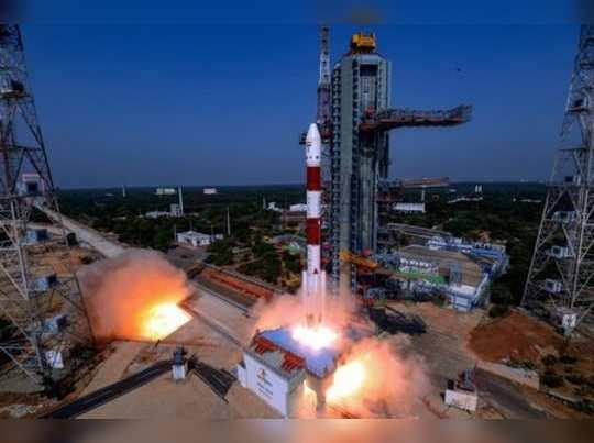 Sriharikota: Indian Space Research Organisation (ISRO)s PSLV-C45 carrying EMISA...
