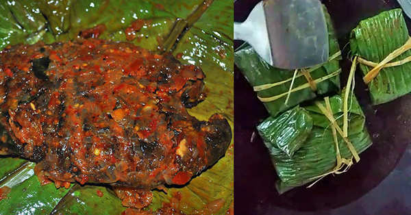 watch video kerala style fried fish in banana leaf wrap recipe in malayalam