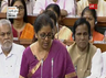 finance minister nirmala sitharaman prsents union budget 2019
