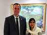 quebec education minister faces backlash on social media for sharing photo with malala