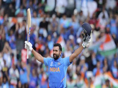 एक विश्व कप में 5 शतक जड़ने वाले पहले बल्लेबाज बने रोहित शर्मा