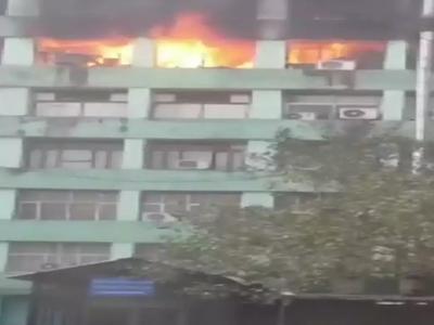 पिकप भवन में साजिशन आग लगाए जाने का खुलासा