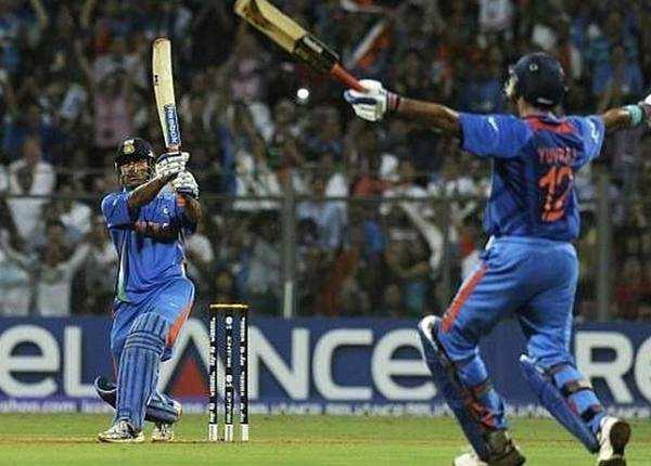 2011 खिताबी मुकाबले में नाबाद 91 रन