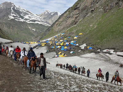 अमरनाथ यात्रा के लिए देशभर में पहुंच रहे श्रद्धालु
