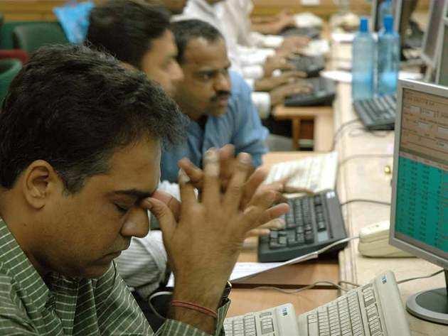 शेयर बाजार में बड़ी गिरावट। (सांकेतिक तस्वीर)