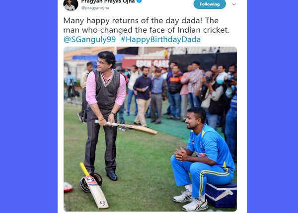 प्रज्ञान ओझा बोले क्रिकेट को बदलने वाले दादा